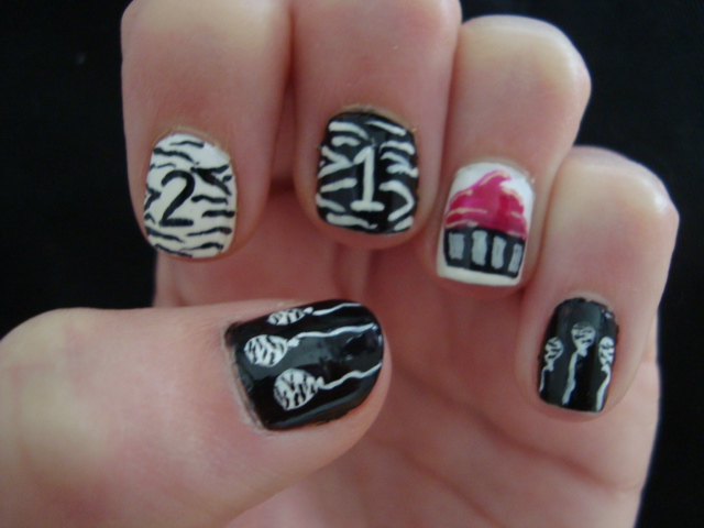 birthday nail art designs 8 30 Easy Birthday Nail Art Designs 2015 30 Easy Birthday Nail Art Designs 2015 birthday nail art designs 81