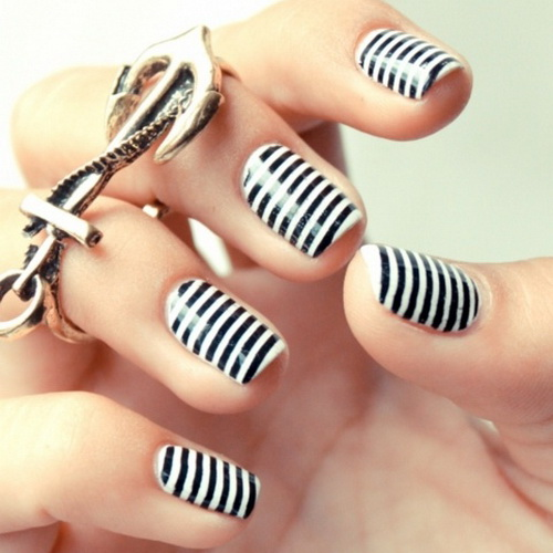 black and white nail art designs 2 25 Unique Black and White Nail Art Designs 2015 25 Unique Black and White Nail Art Designs 2015 black and white nail art designs 2