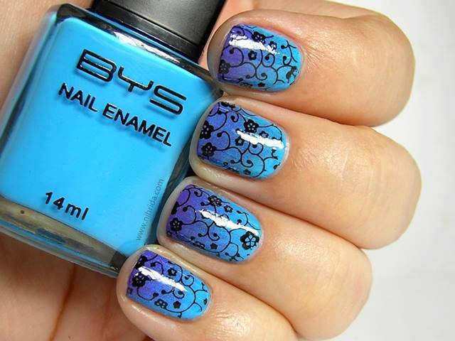 blue nail design 1 20 Stylish Blue Nail Designs of Short nails 2015/16 20 Stylish Blue Nail Designs of Short nails 2015/16 blue nail design 1