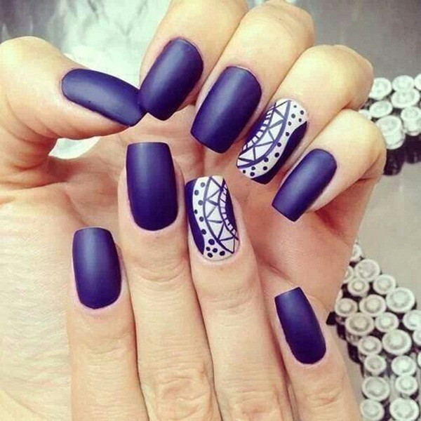blue nail design 15 20 Stylish Blue Nail Designs of Short nails 2015/16 20 Stylish Blue Nail Designs of Short nails 2015/16 blue nail design 15