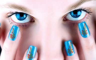 blue nail design 8 20 Stylish Blue Nail Designs of Short nails 2015/16 20 Stylish Blue Nail Designs of Short nails 2015/16 blue nail design 8