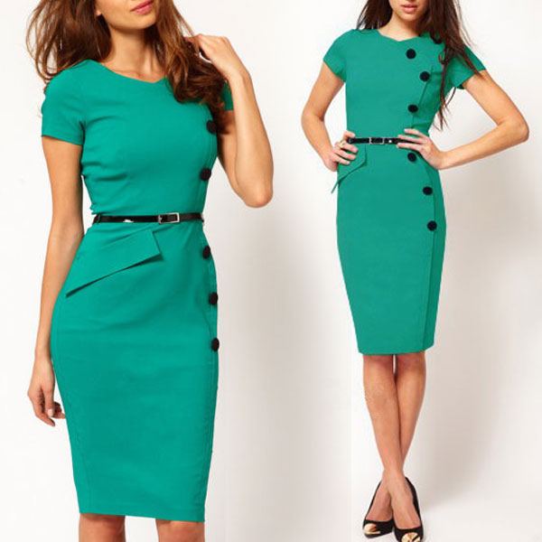 Work Dresses Who says your workwear wardrobe can't be just as good as your weekend wardrobe? Look smart and stylish in our gorgeous range of work dresses here at Wallis.