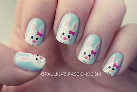 easter nail designs 14 30 Awesome Easter Nail Designs 2015 30 Awesome Easter Nail Designs 2015 easter nail designs 14