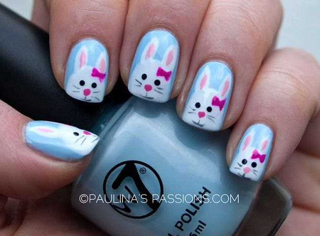 easter nail designs 19 30 Awesome Easter Nail Designs 2015 30 Awesome Easter Nail Designs 2015 easter nail designs 19