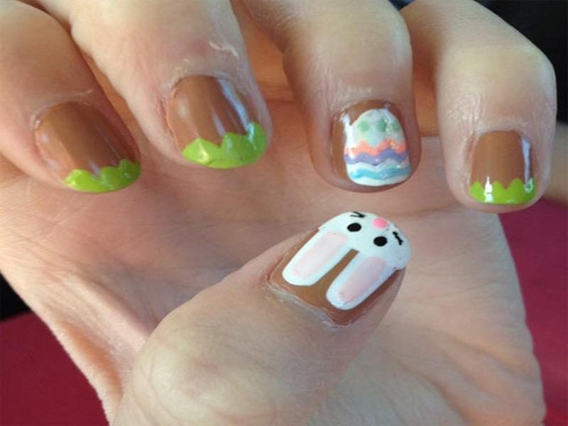 easter nail designs 21 30 Awesome Easter Nail Designs 2015 30 Awesome Easter Nail Designs 2015 easter nail designs 21