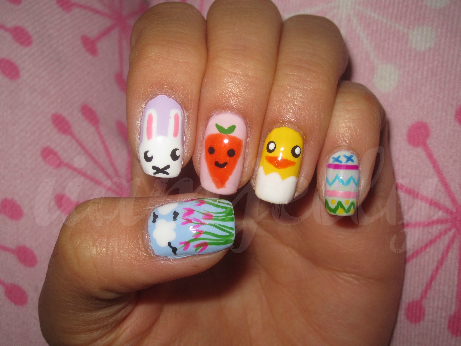 easter nail designs 22 30 Awesome Easter Nail Designs 2015 30 Awesome Easter Nail Designs 2015 easter nail designs 22