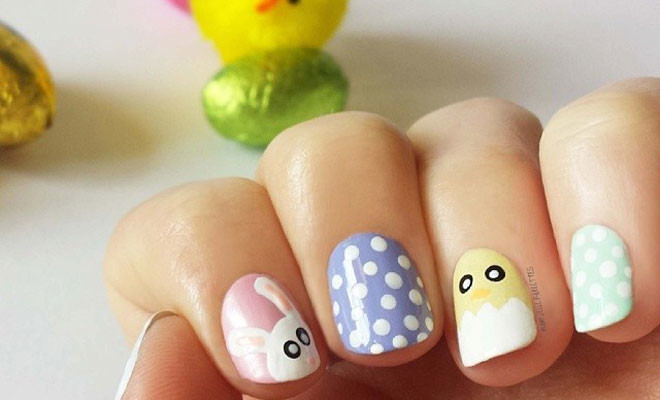 easter nail designs 28 30 Awesome Easter Nail Designs 2015 30 Awesome Easter Nail Designs 2015 easter nail designs 28