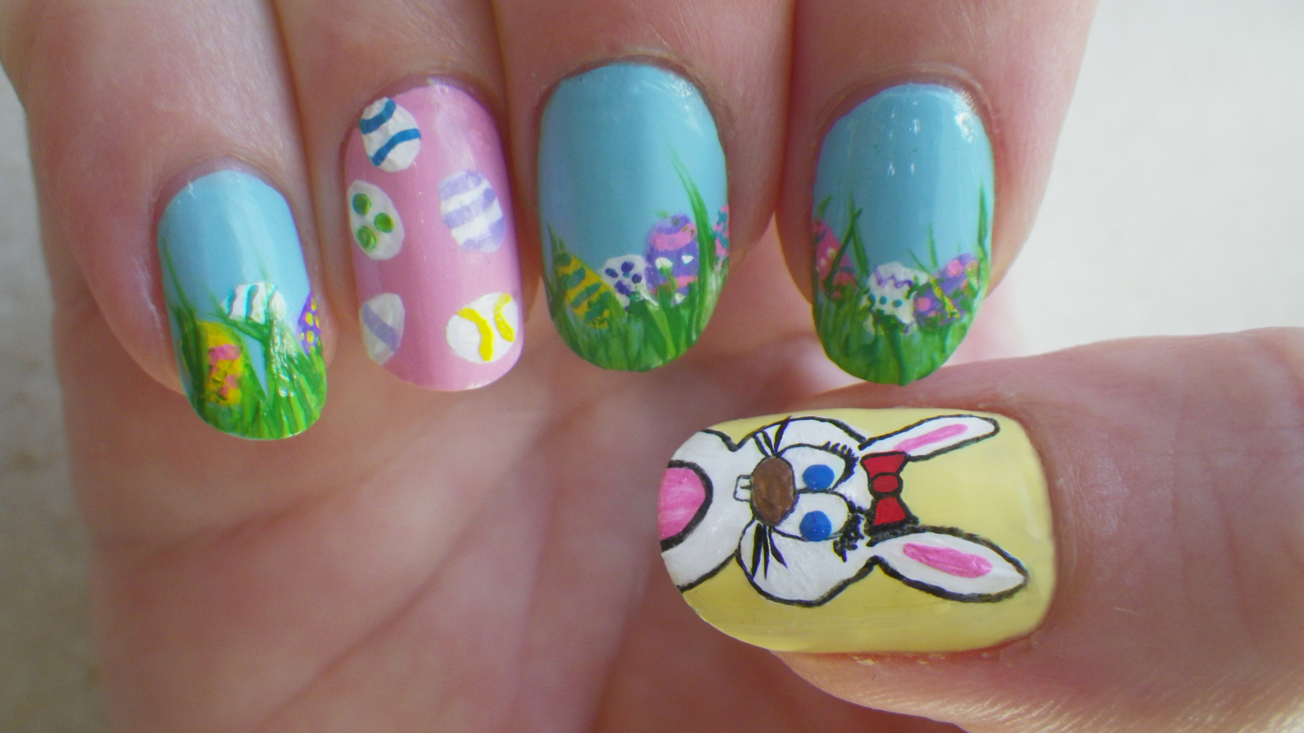 Easter Nails 30 Awesome Easter Nail Designs 2015 30 Awesome Easter Nail Designs 2015 easter nail designs 6