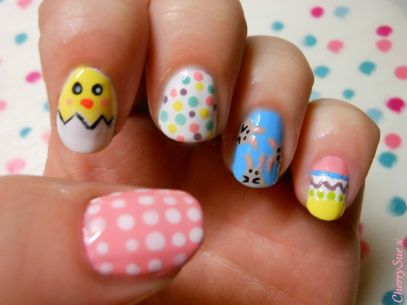 Easter Nails 30 Awesome Easter Nail Designs 2015 30 Awesome Easter Nail Designs 2015 easter nail designs 7