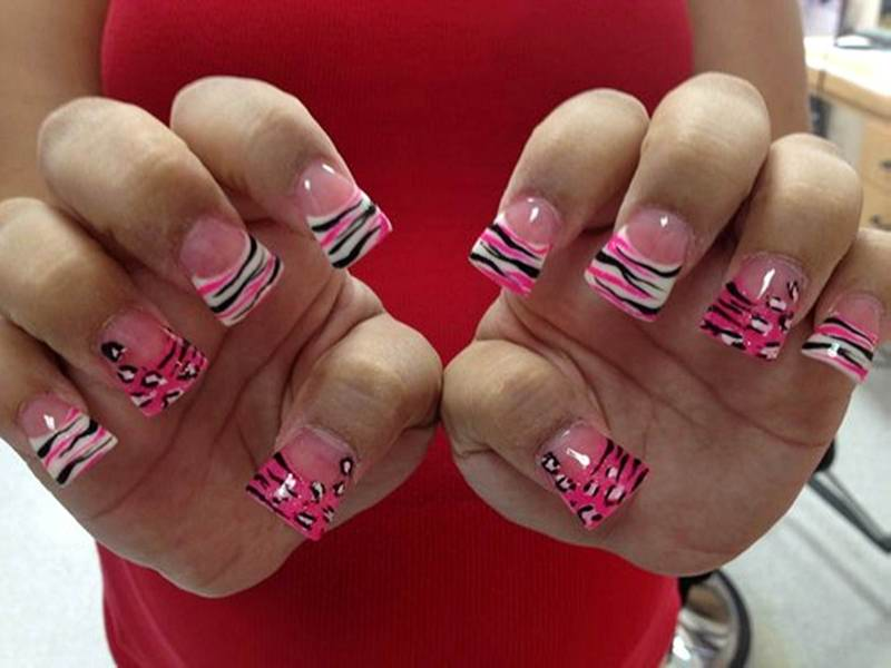 fake nail designs 14 30 Beautiful Fake Nail Design ideas 2015 for Party Season 30 Beautiful Fake Nail Design ideas 2015 for Party Season fake nail designs 14