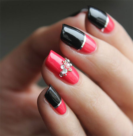 fake nail designs 17 30 Beautiful Fake Nail Design ideas 2015 for Party Season 30 Beautiful Fake Nail Design ideas 2015 for Party Season fake nail designs 17