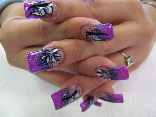 fake nail designs 18 30 Beautiful Fake Nail Design ideas 2015 for Party Season 30 Beautiful Fake Nail Design ideas 2015 for Party Season fake nail designs 18