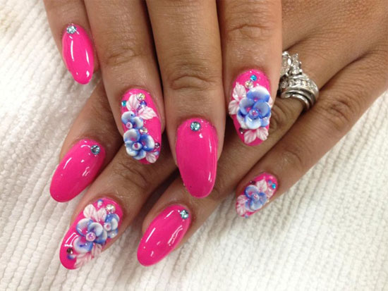 fake nail designs 22 30 Beautiful Fake Nail Design ideas 2015 for Party Season 30 Beautiful Fake Nail Design ideas 2015 for Party Season fake nail designs 22