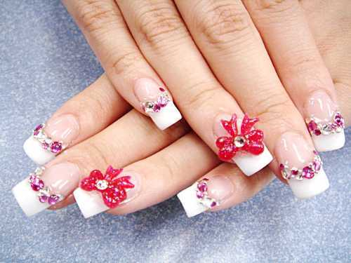 fake nail designs 23 30 Beautiful Fake Nail Design ideas 2015 for Party Season 30 Beautiful Fake Nail Design ideas 2015 for Party Season fake nail designs 23