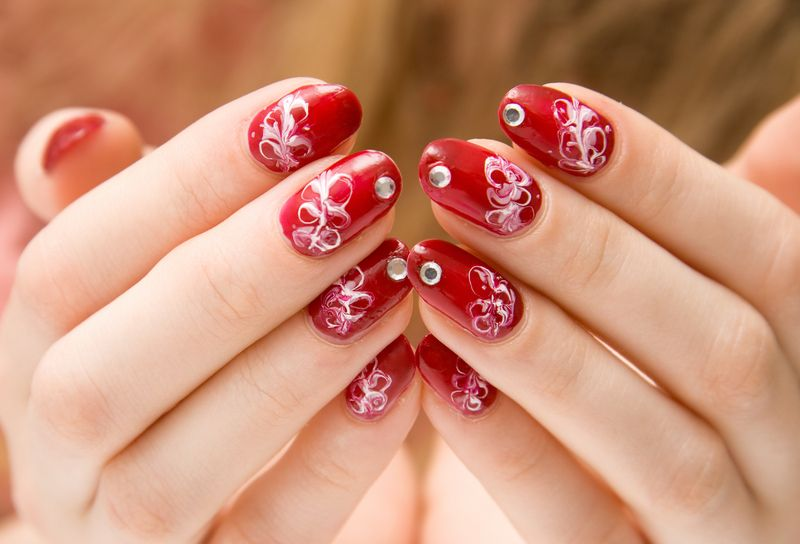 fake nail designs 25 30 Beautiful Fake Nail Design ideas 2015 for Party Season 30 Beautiful Fake Nail Design ideas 2015 for Party Season fake nail designs 25