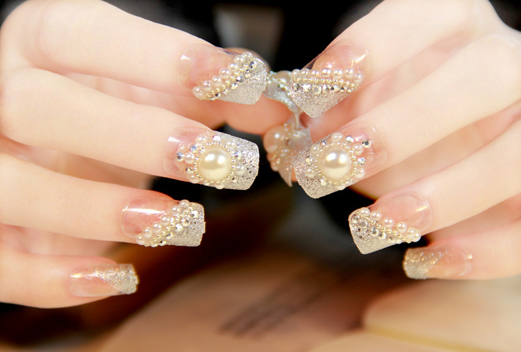 fake nail designs 29 30 Beautiful Fake Nail Design ideas 2015 for Party Season 30 Beautiful Fake Nail Design ideas 2015 for Party Season fake nail designs 29