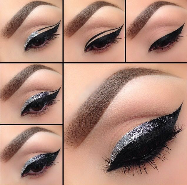 Glitter Eyeliner How to Apply Glitter Eyeliner Perfectly How to Apply Glitter Eyeliner Perfectly glitter eyeliner ideas