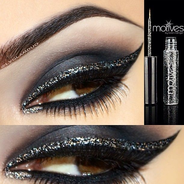 glitter eyeliner ideas How to Apply Glitter Eyeliner Perfectly How to Apply Glitter Eyeliner Perfectly glitter eyeliner ideas1