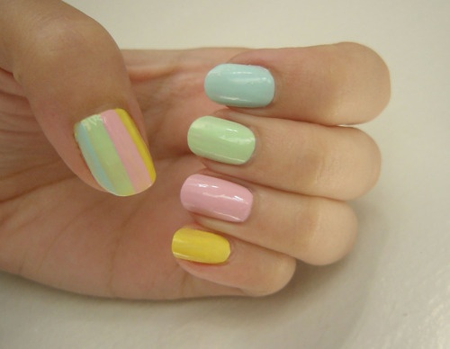 13 Cute Pastel Nail Art Colors  18 25 Creative and inspiring Pastel Nail art design colors 2015/16 25 Creative and inspiring Pastel Nail art design colors 2015/16 13 Cute Pastel Nail Art Colors 18