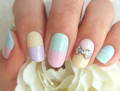 25 Creative and inspiring Pastel Nail art design colors 2015/16 25 Creative and inspiring Pastel Nail art design colors 2015/16 13 Cute Pastel Nail Art Colors 9