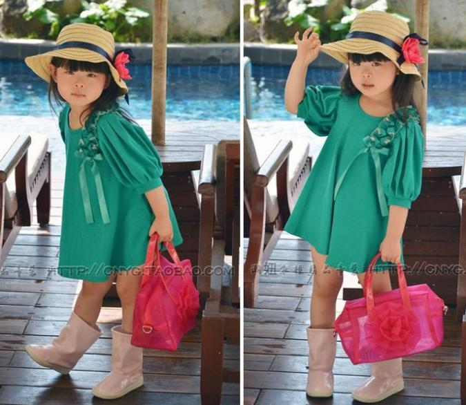 New-stylish-casual-summer dress Summer Fashion Outfits for Kids Trends 2015/16 Summer Fashion Outfits for Kids Trends 2015/16 New stylish casual summer dress1