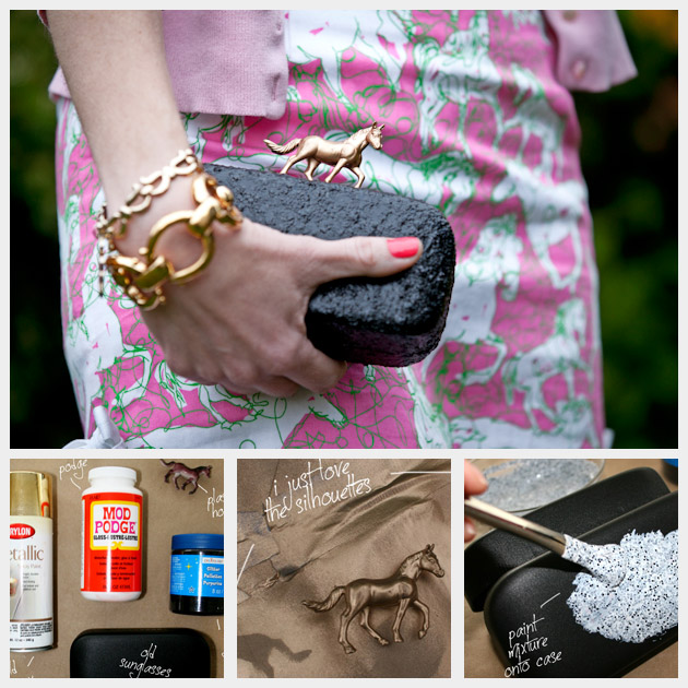 Recycled-Sunglass-Case-Clutch 16 Fancy Diy Clutch ideas & Tutorials make at home easily 16 Fancy Diy Clutch ideas & Tutorials make at home easily Recycled Sunglass Case Clutch