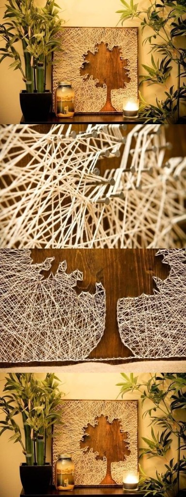 Simple-DIY-String-Projects 18 Creative Diy String Art ideas 2015 you can try at home 18 Creative Diy String Art ideas 2015 you can try at home Simple DIY String Projects1