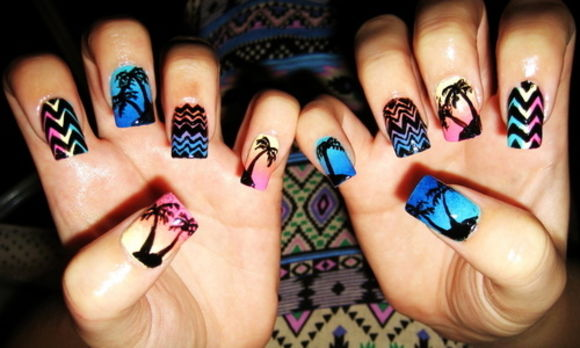coachella inspired nails 11 13 Cute Coachella Nail Art Colors 2015/16 13 Cute Coachella Nail Art Colors 2015/16 coachella inspired nails 11