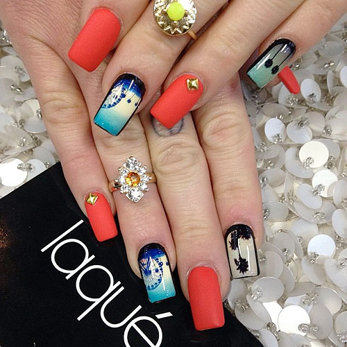 coachella inspired nails 13 13 Cute Coachella Nail Art Colors 2015/16 13 Cute Coachella Nail Art Colors 2015/16 coachella inspired nails 13
