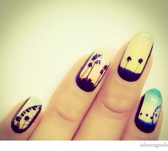 coachella inspired nails 9 13 Cute Coachella Nail Art Colors 2015/16 13 Cute Coachella Nail Art Colors 2015/16 coachella inspired nails 9