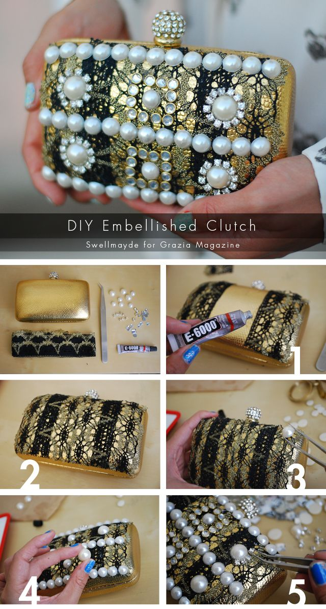 Clutch Idea 1 Beautiful With Pearls