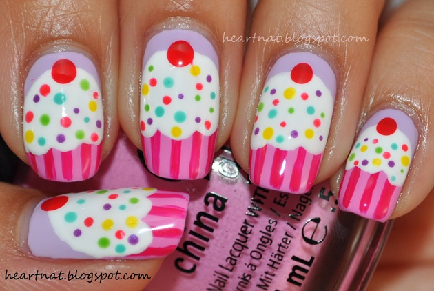30 Awesome Cupcake Nail Art Designs 2015/16 30 Awesome Cupcake Nail Art Designs 2015/16 cupcake nail art design 22
