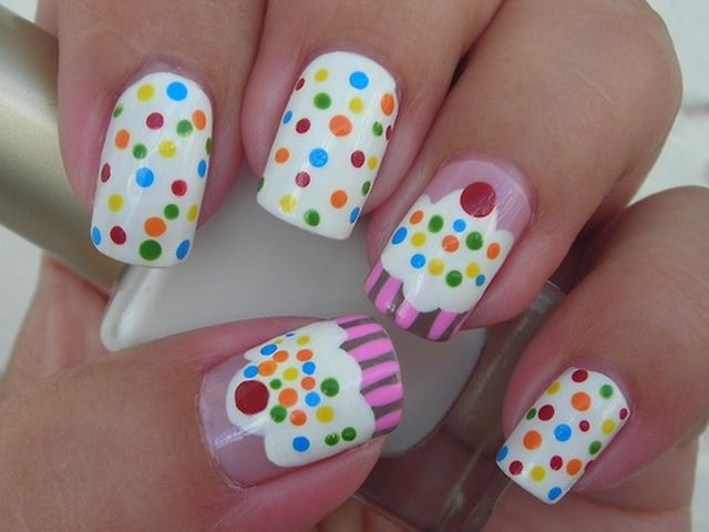 30 Awesome Cupcake Nail Art Designs 2015/16 30 Awesome Cupcake Nail Art Designs 2015/16 cupcake nail art design 24
