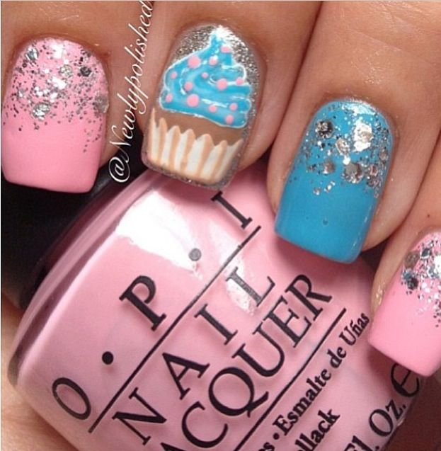 30 Awesome Cupcake Nail Art Designs 2015/16 30 Awesome Cupcake Nail Art Designs 2015/16 cupcake nail art design 26
