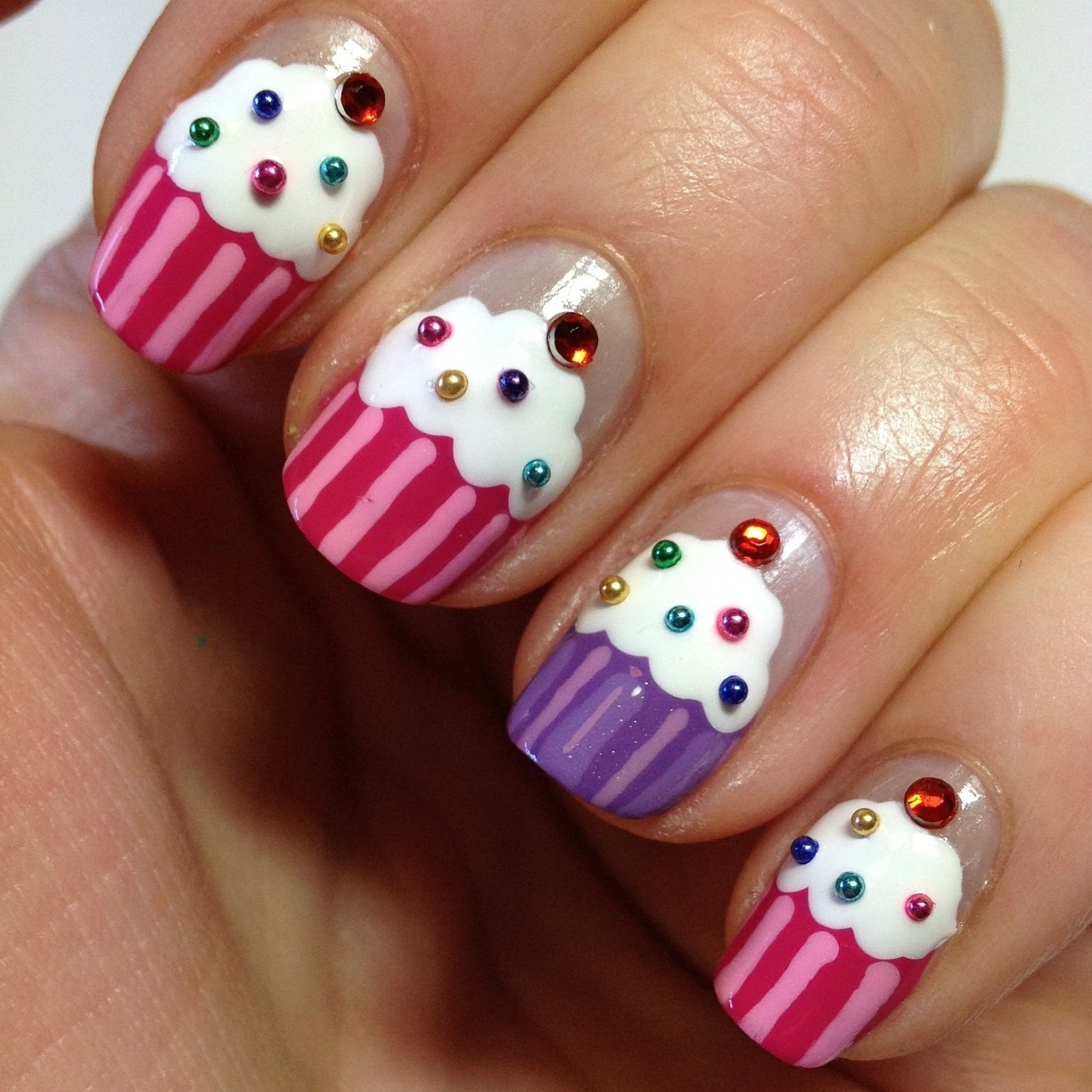 30 Awesome Cupcake Nail Art Designs 2015/16 30 Awesome Cupcake Nail Art Designs 2015/16 cupcake nail art design 28