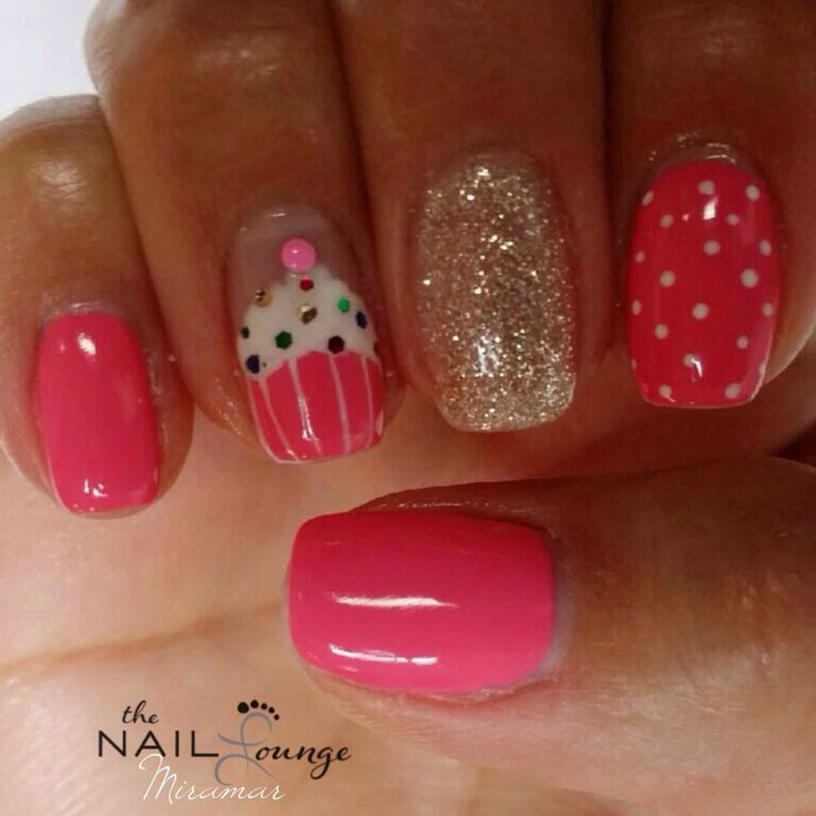 30 Awesome Cupcake Nail Art Designs 2015/16 30 Awesome Cupcake Nail Art Designs 2015/16 cupcake nail art design 29