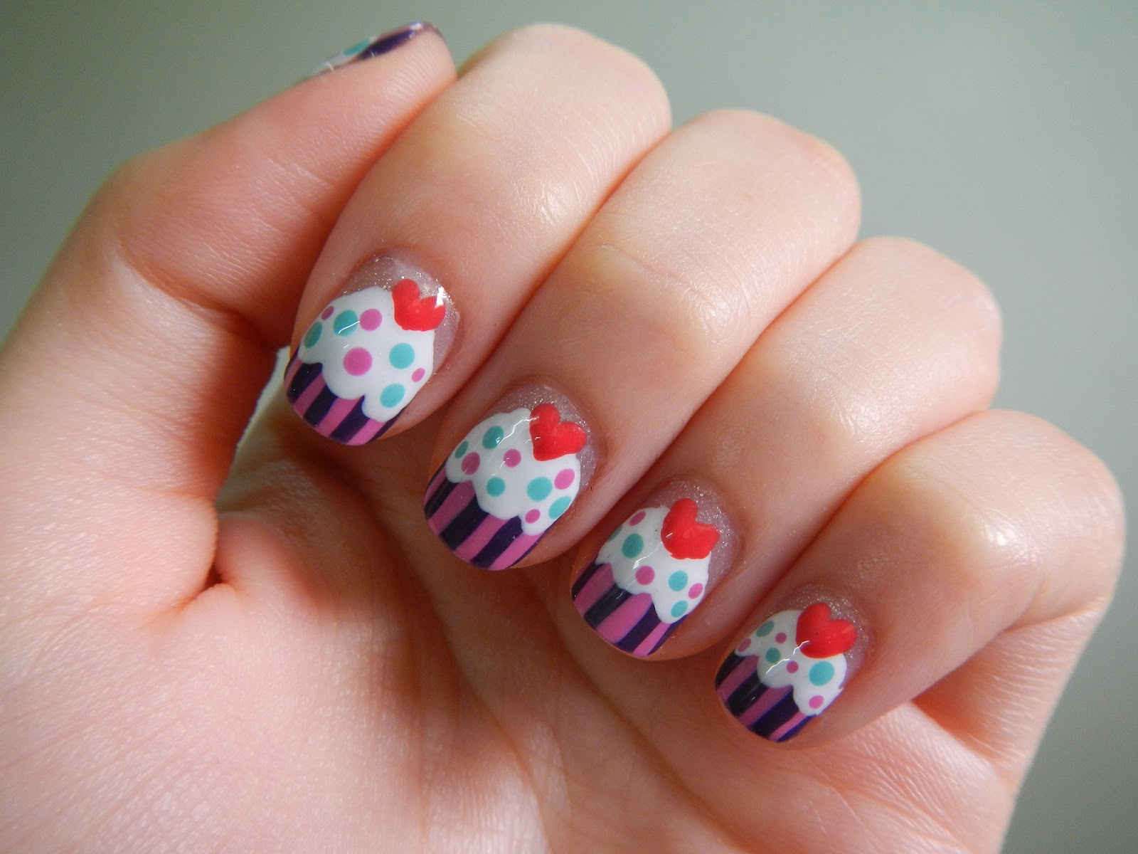 30 Awesome Cupcake Nail Art Designs 2015/16 30 Awesome Cupcake Nail Art Designs 2015/16 cupcake nail art design 3