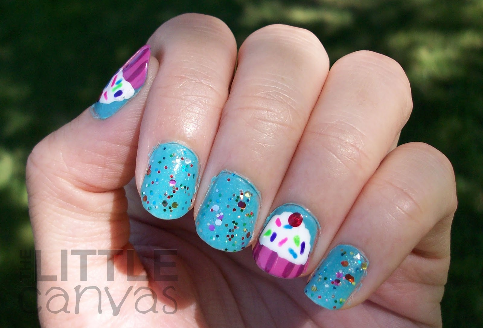 30 Awesome Cupcake Nail Art Designs 2015/16 30 Awesome Cupcake Nail Art Designs 2015/16 cupcake nail art design 4