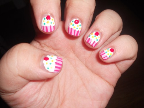 30 Awesome Cupcake Nail Art Designs 2015/16 30 Awesome Cupcake Nail Art Designs 2015/16 cupcake nail art design 5