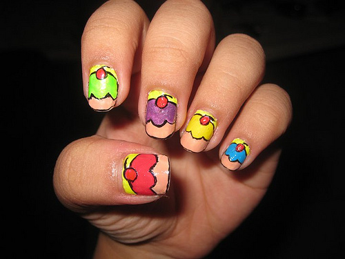 30 Awesome Cupcake Nail Art Designs 2015/16 30 Awesome Cupcake Nail Art Designs 2015/16 cupcake nail art design 9