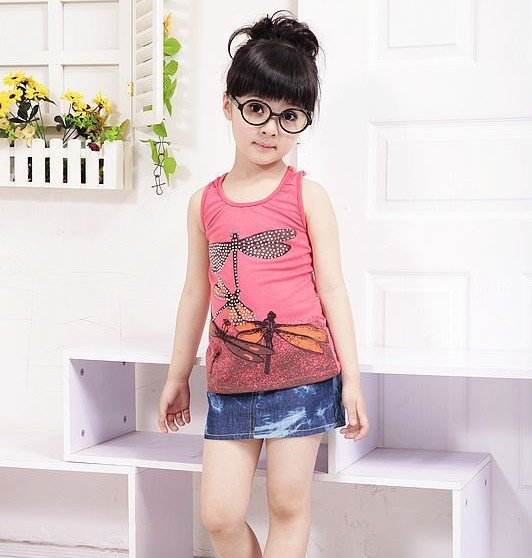 kids-girls-summer-Top Summer Fashion Outfits for Kids Trends 2015/16 Summer Fashion Outfits for Kids Trends 2015/16 kids girls summer Top