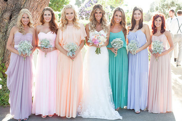 pastel-bridesmaid-dresses 26 Best Summer Bridesmaid Dresses 2015/16 26 Best Summer Bridesmaid Dresses 2015/16 pastel bridesmaid dresses