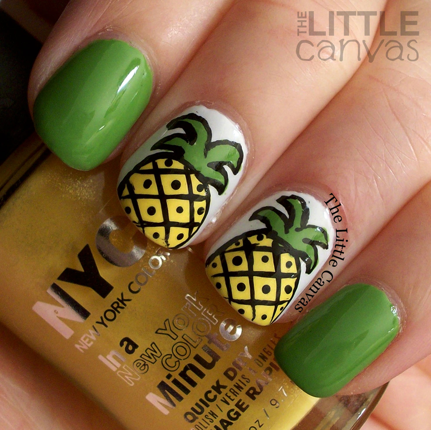 pineapple nail art design 1 24 Beautiful Pineapple Nail Art Designs 2015 24 Beautiful Pineapple Nail Art Designs 2015 pineapple nail art design 1