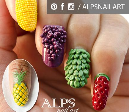 pineapple nail art design 12 24 Beautiful Pineapple Nail Art Designs 2015 24 Beautiful Pineapple Nail Art Designs 2015 pineapple nail art design 12
