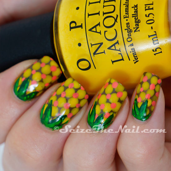 pineapple nail art design 14 24 Beautiful Pineapple Nail Art Designs 2015 24 Beautiful Pineapple Nail Art Designs 2015 pineapple nail art design 14
