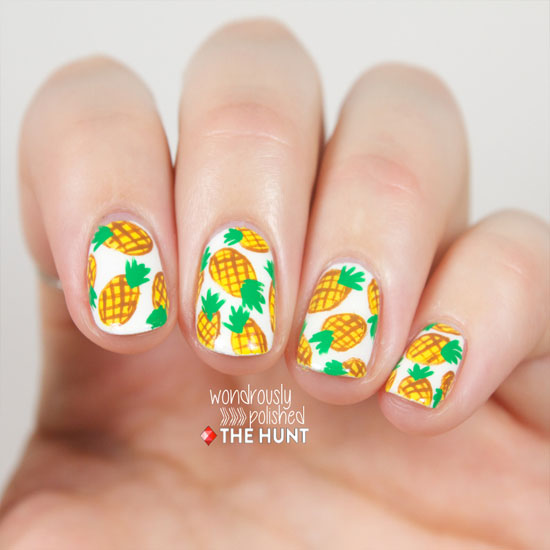 pineapple nail art design 16 24 Beautiful Pineapple Nail Art Designs 2015 24 Beautiful Pineapple Nail Art Designs 2015 pineapple nail art design 16