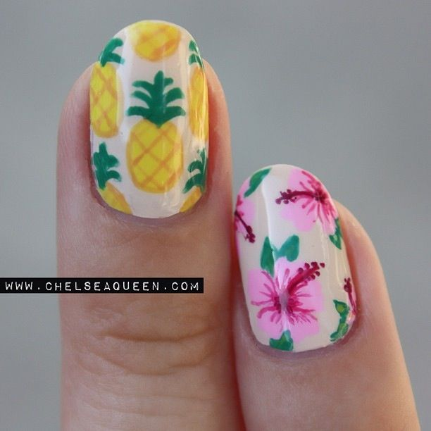 pineapple nail art design 19 24 Beautiful Pineapple Nail Art Designs 2015 24 Beautiful Pineapple Nail Art Designs 2015 pineapple nail art design 19
