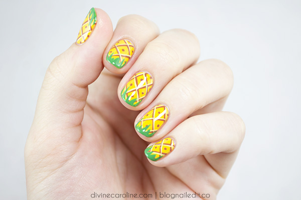 pineapple nail art design 20 24 Beautiful Pineapple Nail Art Designs 2015 24 Beautiful Pineapple Nail Art Designs 2015 pineapple nail art design 20