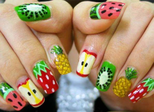 pineapple nail art design 22 24 Beautiful Pineapple Nail Art Designs 2015 24 Beautiful Pineapple Nail Art Designs 2015 pineapple nail art design 22