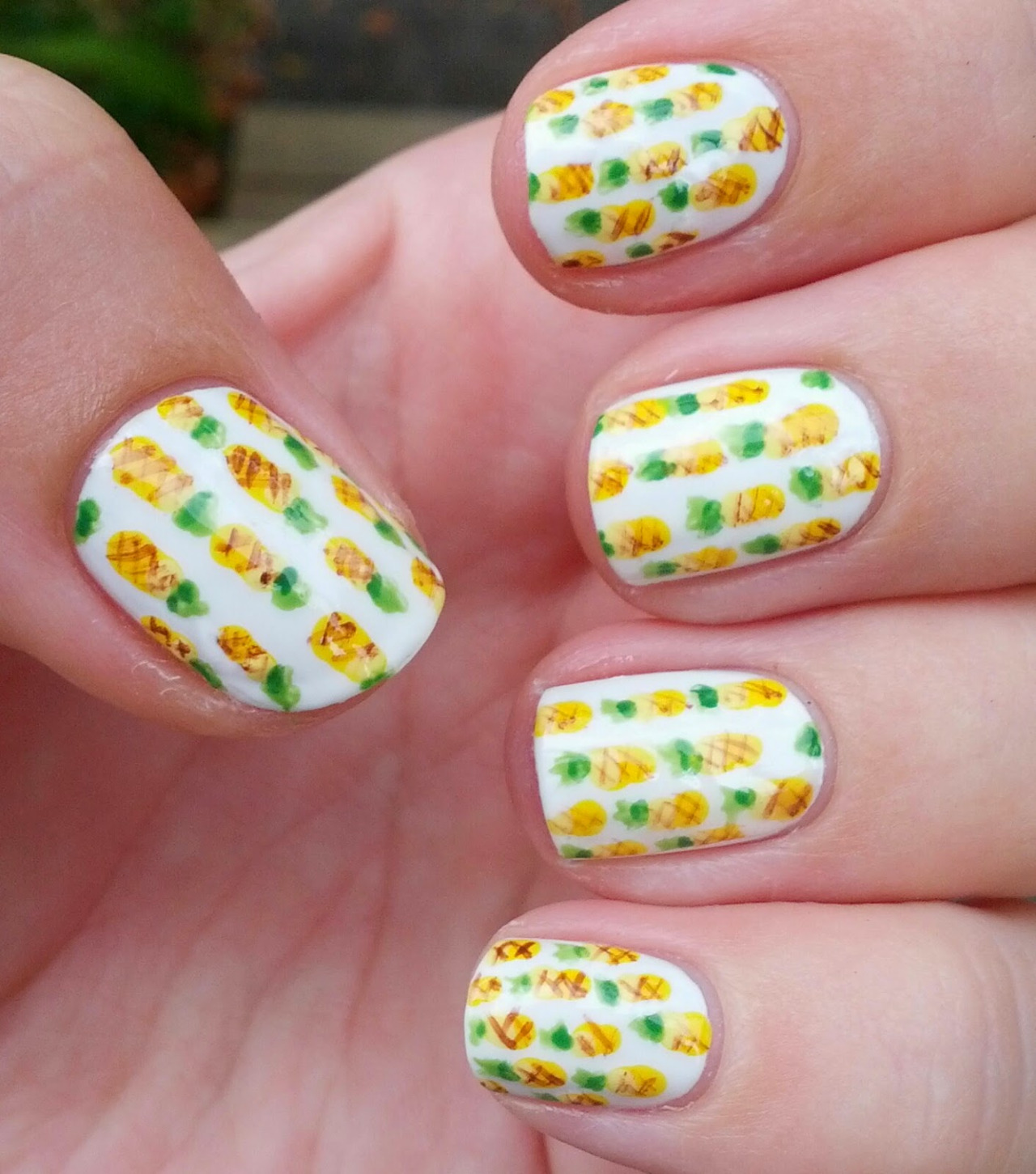 pineapple nail art design 25 24 Beautiful Pineapple Nail Art Designs 2015 24 Beautiful Pineapple Nail Art Designs 2015 pineapple nail art design 25